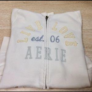 🆕💙Soft Aerie hoodie zip up
